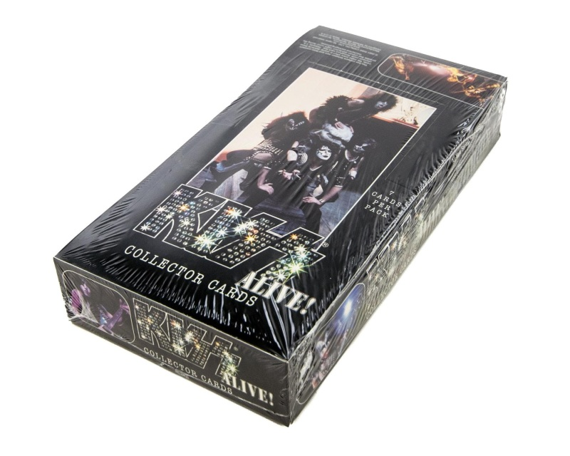 Kiss Alive Collector Cards
